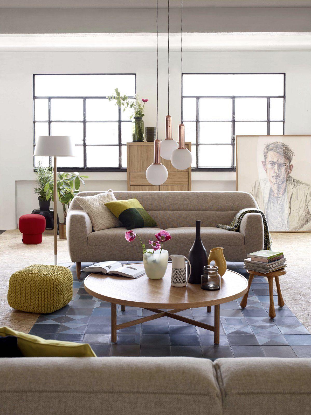 French Living Idee Deco Salon Meuble Habitat Et Idee Deco Salon Chaleureux