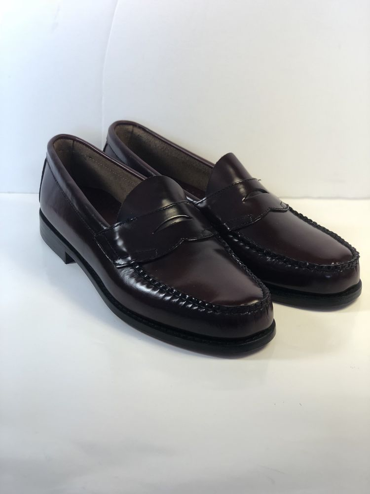 21752a7a069 GH Bass   Co Weejuns Logan Penny Loafers Dress Shoes Mens Size 9D Burgundy   fashion  clothing  shoes  accessories  mensshoes  dressshoes (ebay link)