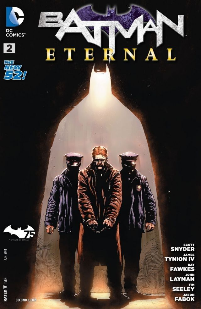 Batman Eternal (2014-) #2 A notorious Batman adversary appears for the first time in The New 52 continuity.