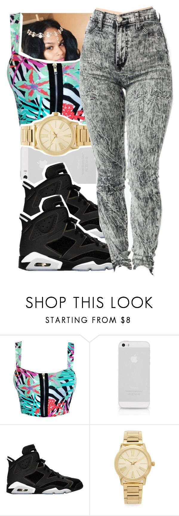 """""""New Digss """" by qeens ❤ liked on Polyvore featuring Retrò and Michael Kors"""