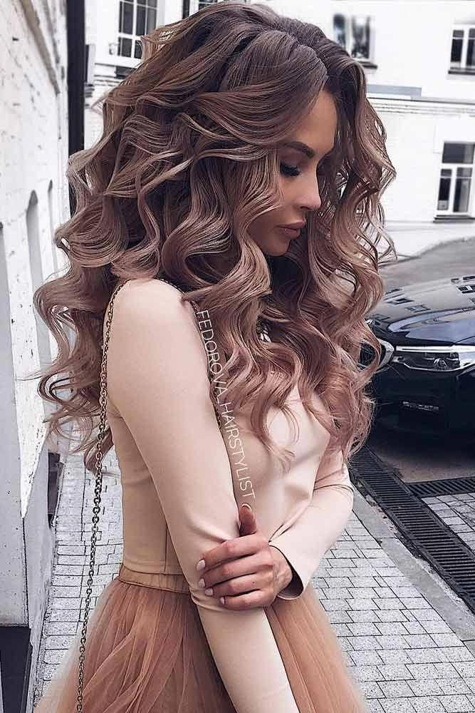 So-Pretty Long Down #hairstyles for Prom Night picture6 ...