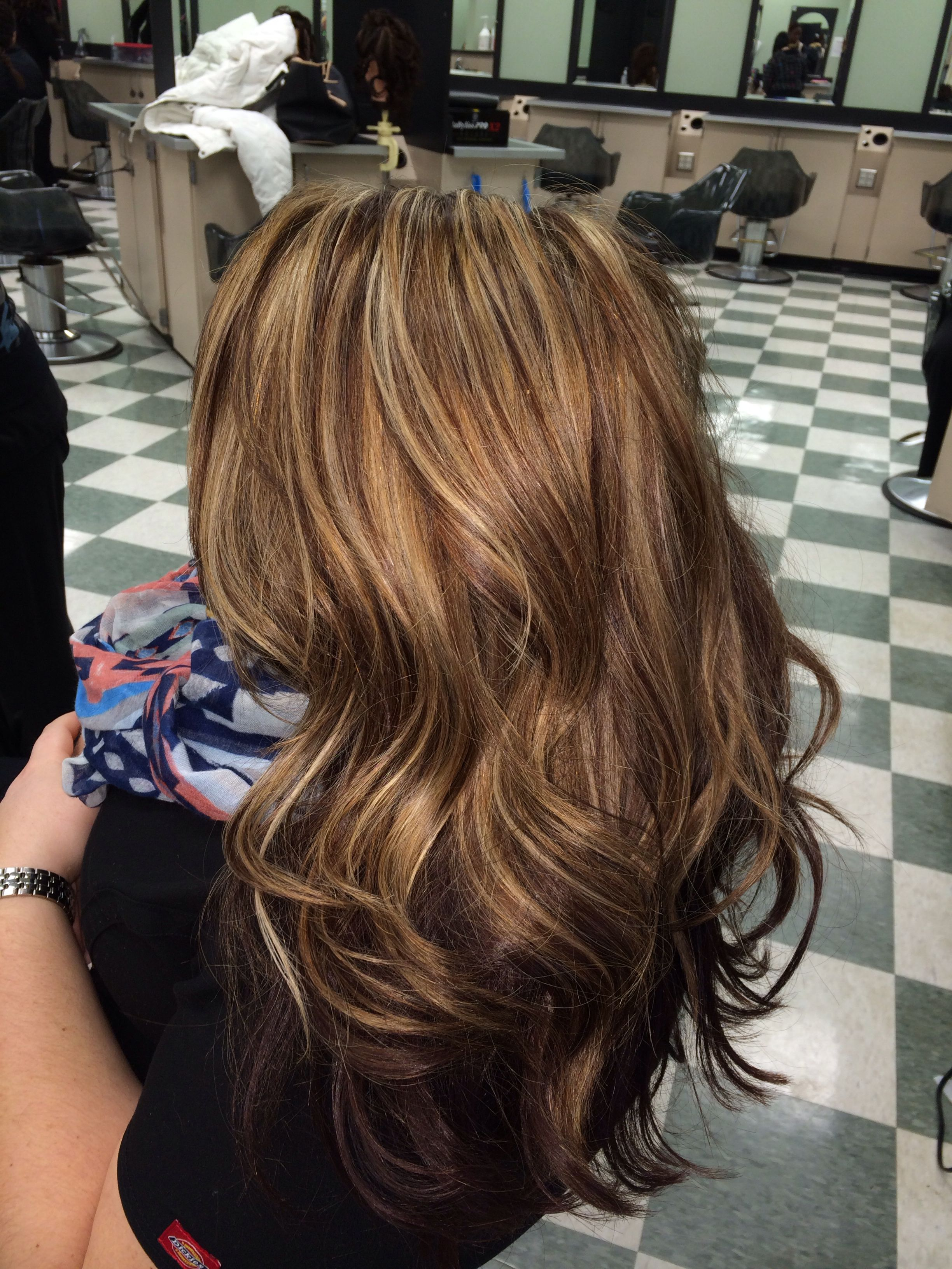 Caramel blonde red hair colors pinterest brown red and blondes