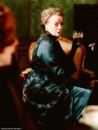 """""""Your quarrel is with my daughter, Rosamund, and not with me. So put that in your pipe and smoke it"""""""