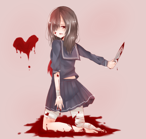 yandere characters 114 notes reblog yandere pinterest