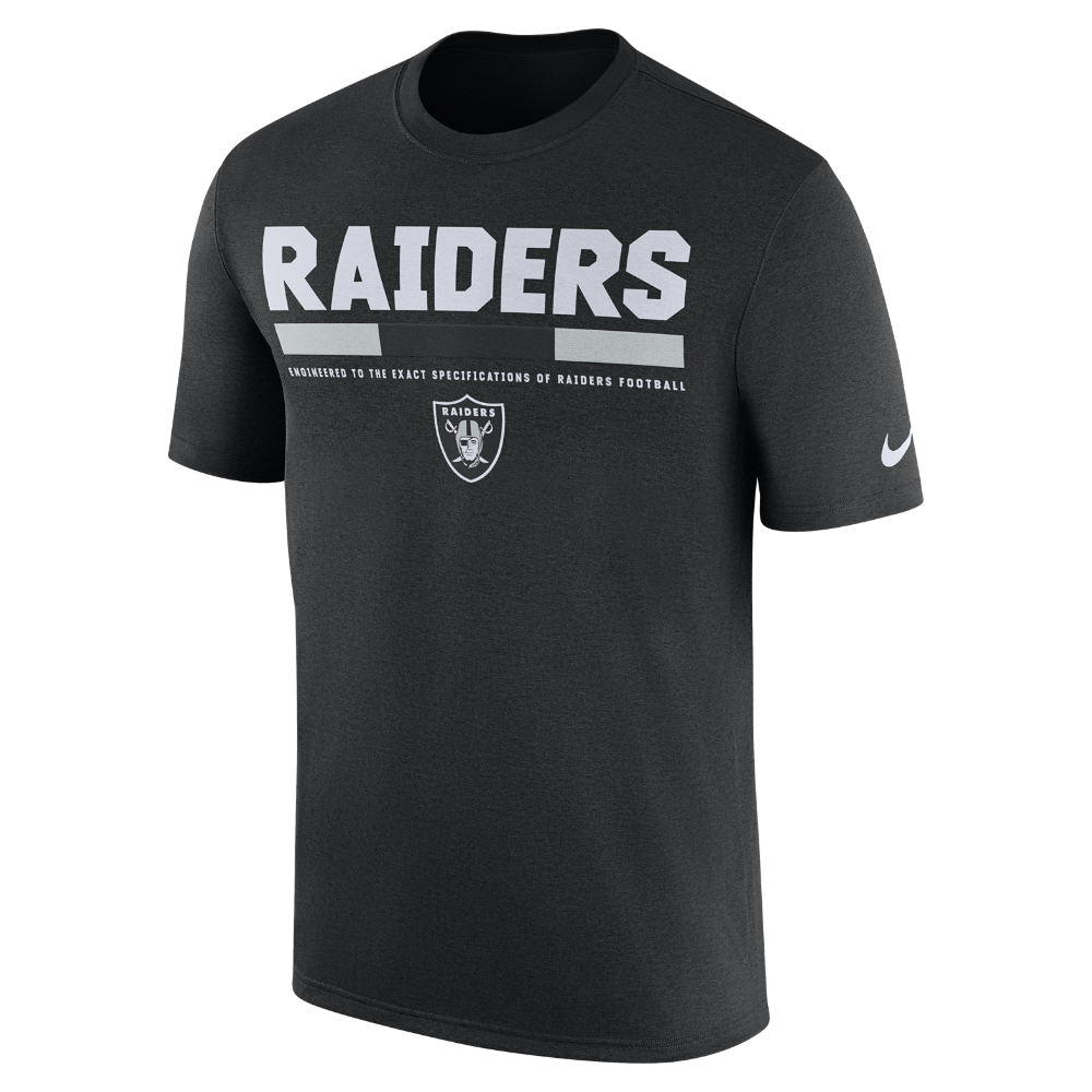 56ea0fb9 Nike Dry Legend Staff (NFL Raiders) Men's T-Shirt Size | Products ...