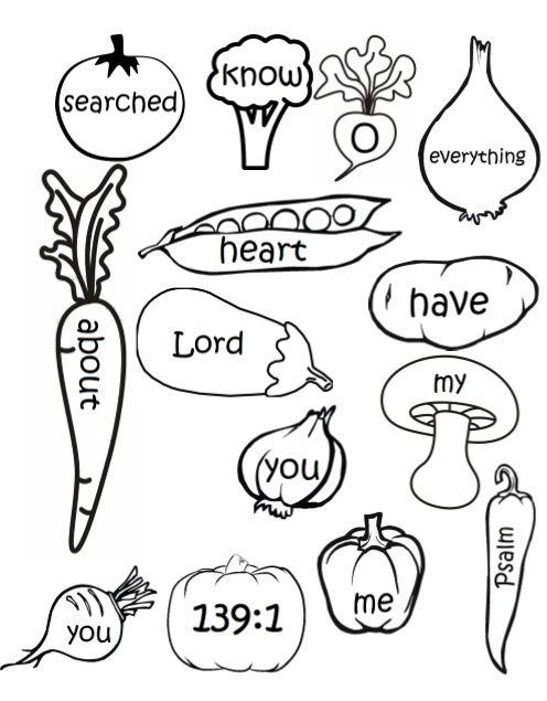 February Lesson 2 - Jacob & Esau (Memory Verse Soup) | Kiddo Crafts ...