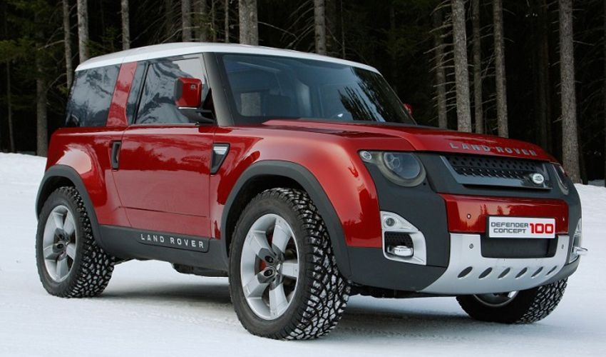 2018 Land Rover Defender Design Concept Price Release Date And