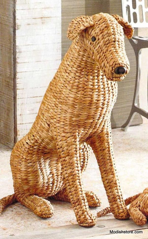 350.00 Roost Woven Wally Organic furniture, Dog