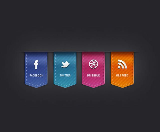 15 tutorials in icon, badge and button design | Designer's