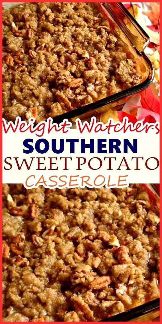 SOUTHERN SWEET POTATO CASSEROLE RECIPE #sweetpotatocasserole