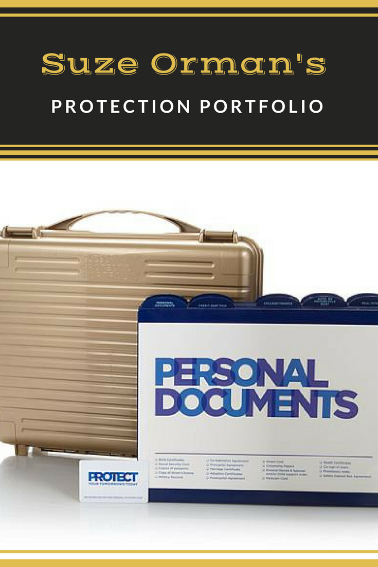 This Suze Orman's Protection Portfolio has all your
