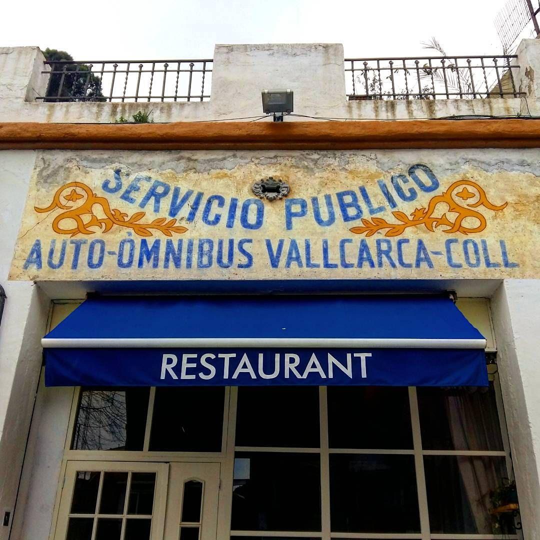 Antic Bus Del Coll A Vallcarca Passeig Mare De Déu Del Coll Barcelona Barcelona