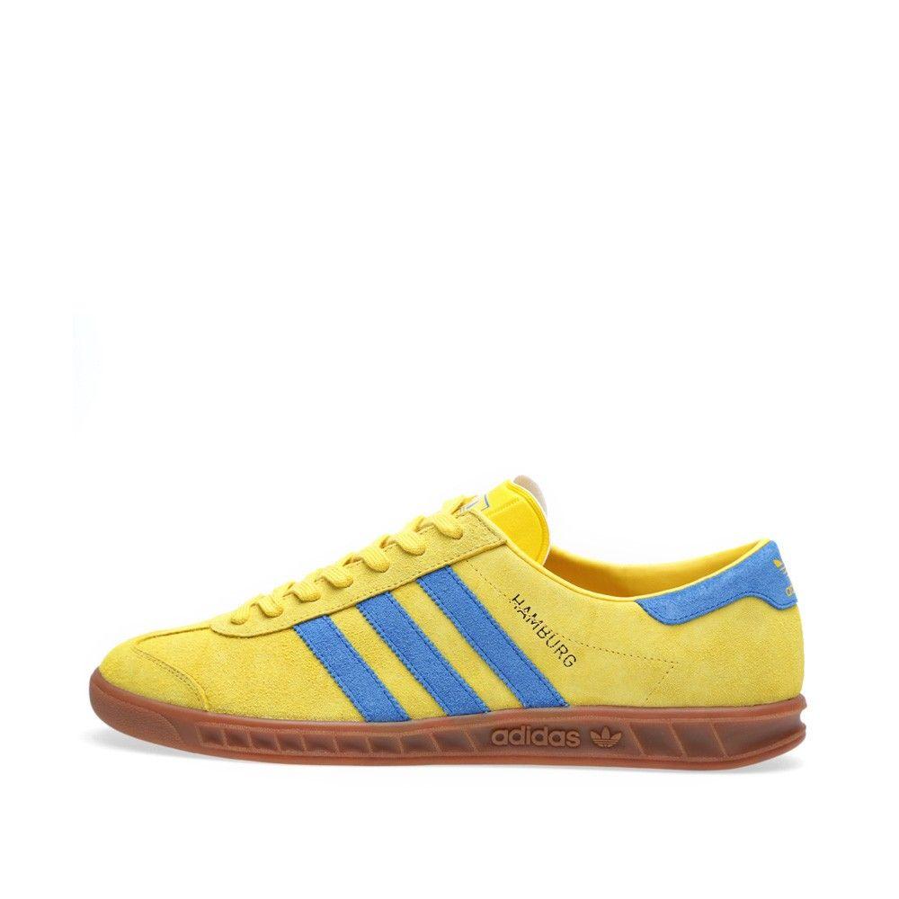 Adidas Hamburg (Tribe Yellow & Blue Bird)   Adidas, Adidas hamburg ...