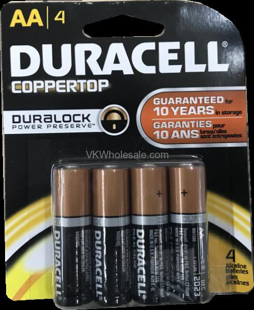 Wholesale Duracell Coppertop Aaa 4 Pack Alkaline Batteries Wholesaleduracell Aaa 4 Alkaline Batteryaa Size 1 5 Vo Duracell Alkaline Battery Duracell Batteries