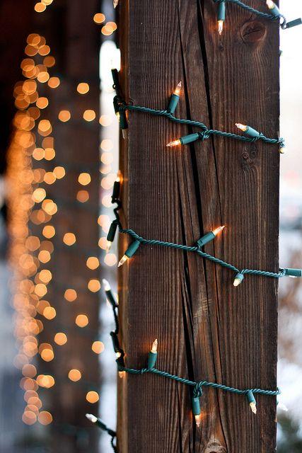 twinkle light poles