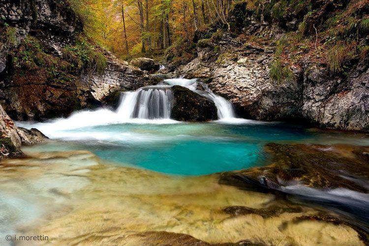 Cascate Dell Arzino In Val Darzino Pordenone Italy Pinterest