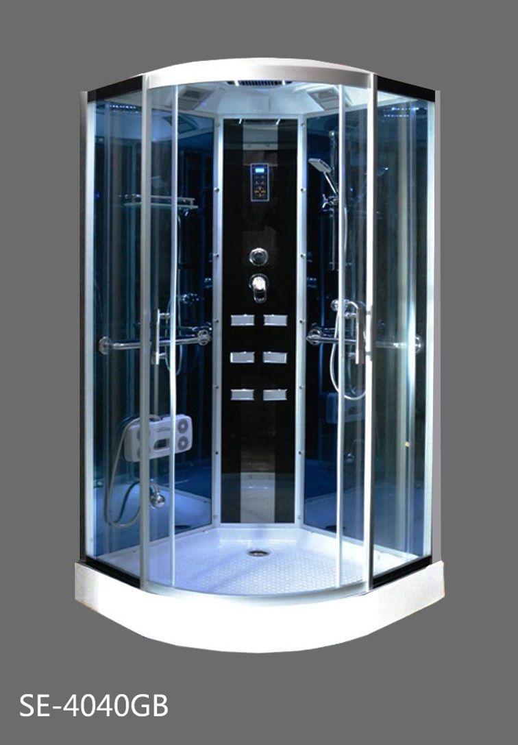 Shower Enclosures and Doors 121850: Ada Luxury Corner Shower Se ...