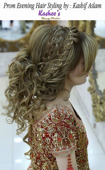 Pin By Kashees Beauty Parlor On Kashee S Glamorous Hair Styling Hair Styles Bridal Hair Stylish Hair