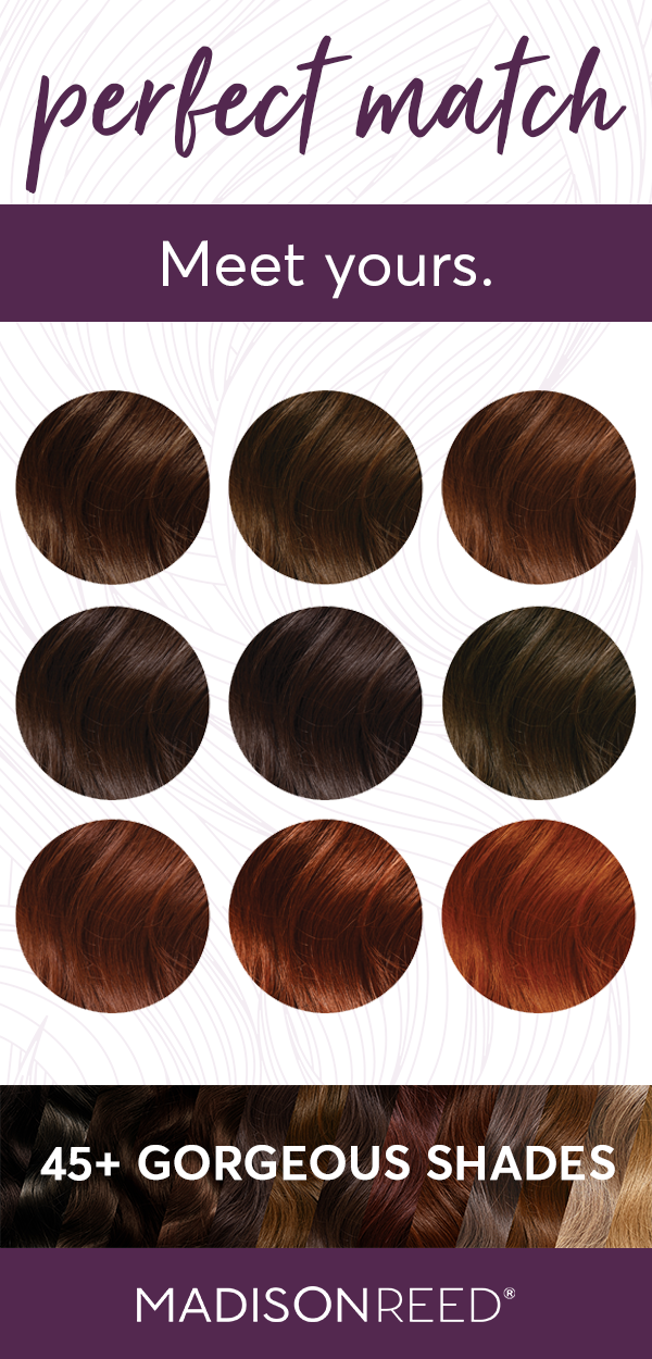 Take The Color Quiz To Find Your Perfect Hair Color Shade Chocolate Brown Hair Color Amaretto Re Perfect Hair Color Madison Reed Hair Color Hair Color Shades