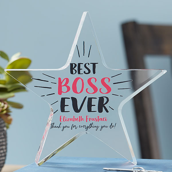 personalized best boss ever