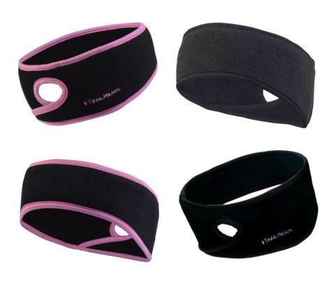 TrailHeads GoodBye Girl Headband | Fleece Running Headband | Fleet Feet Sports - Chicago