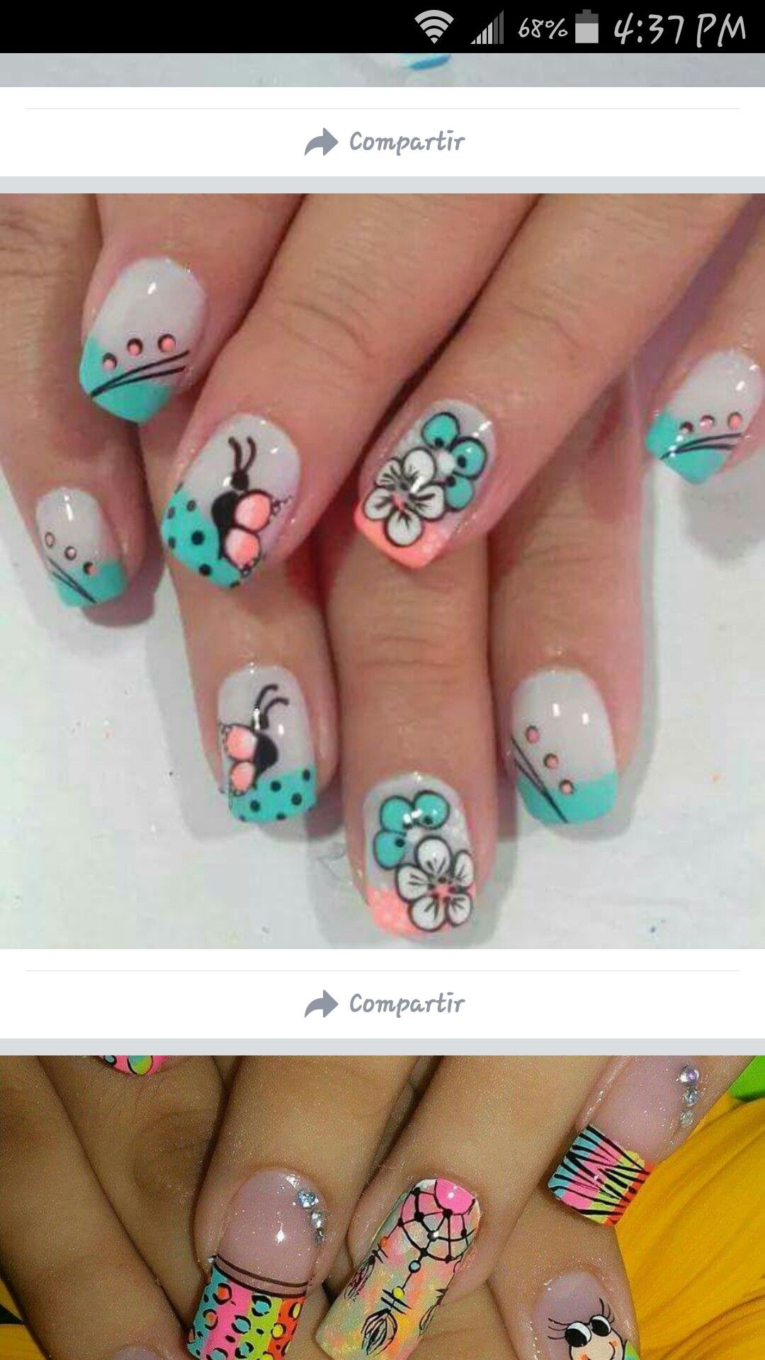 Pin by Vane on Uñas | Pinterest | Nail pics and Manicure