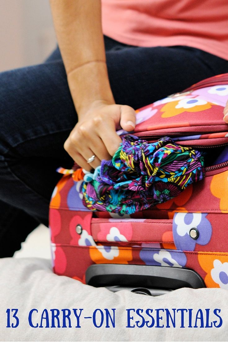 Carry On Essentials For Your Next Trip Essentials Travel - 8 tips on how to pack light for your next vacation