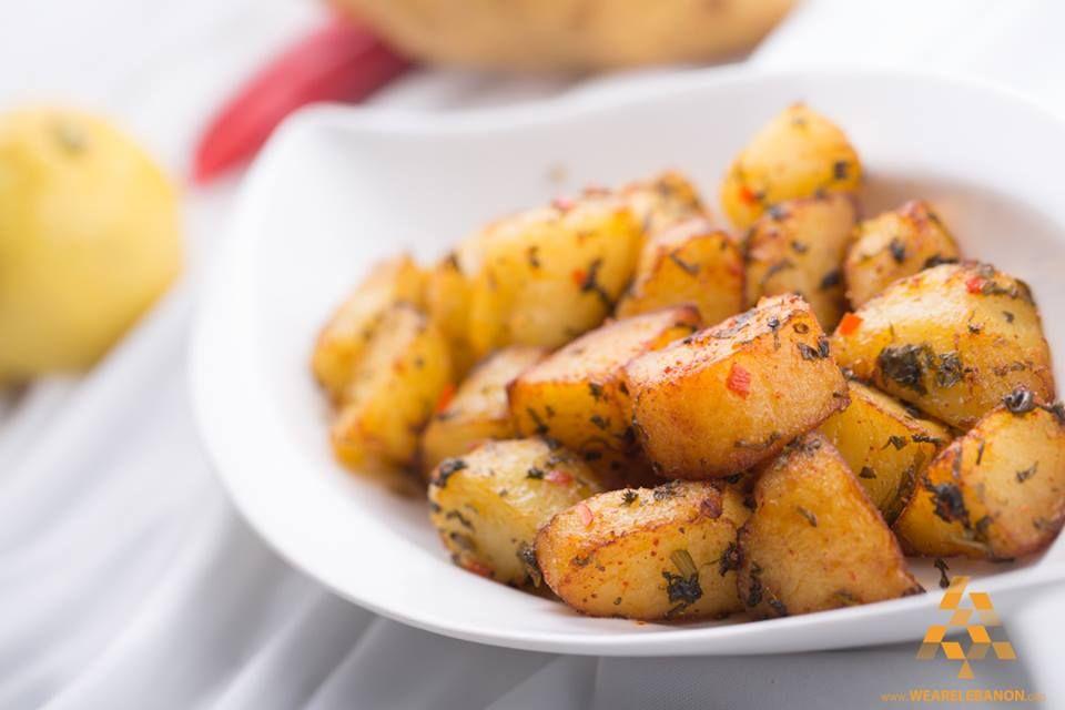 Do You Like Seasoned Potato بتحبو البطاطا الحرة By Chef Mohammad Farran Wearelebanon Lebanon Lebanese Recipes Food Arabian Food