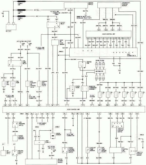 1991 nissan pathfinder wiring diagram wiring diagrams database 1991 nissan pathfinder wiring diagram