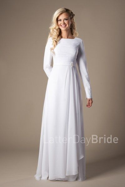 Rexburg | LDS Temple Dress | Modest | LatterDayBride | SLC | UT ...
