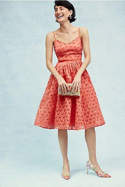 5d681d50d240c Prima Midi Dress | Coral | Pinterest | Vestidos retro, Vestidos ...