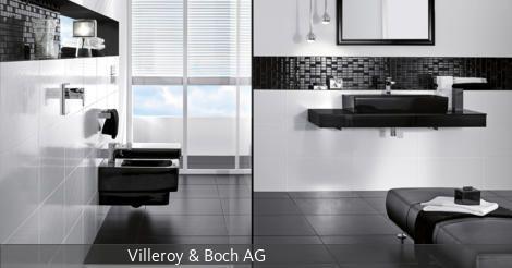 Modernes Badezimmer in Schwarz-Weiß | Badidden | Pinterest