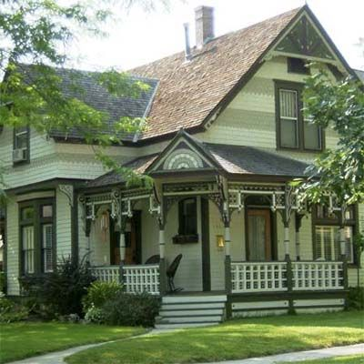 Neighborhood Of North End Boise Idaho Historic Homes Victorian Homes Craftsman House