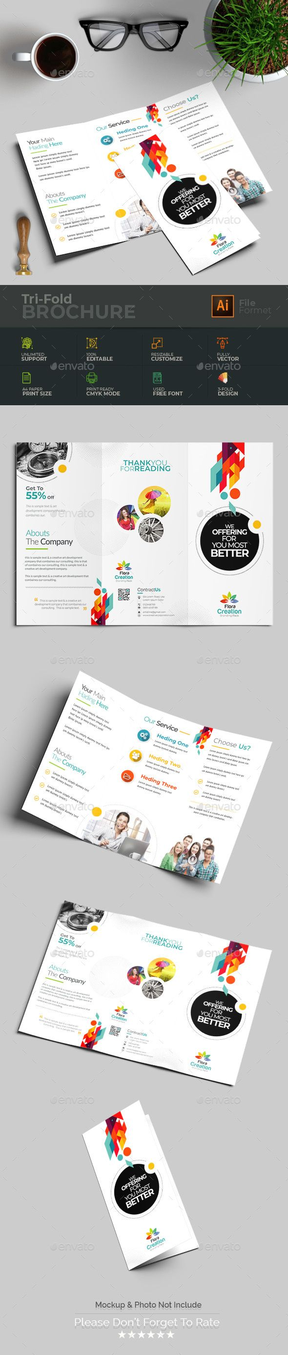 Pin By Best Graphic Design On Brochure Templates Brochure Template