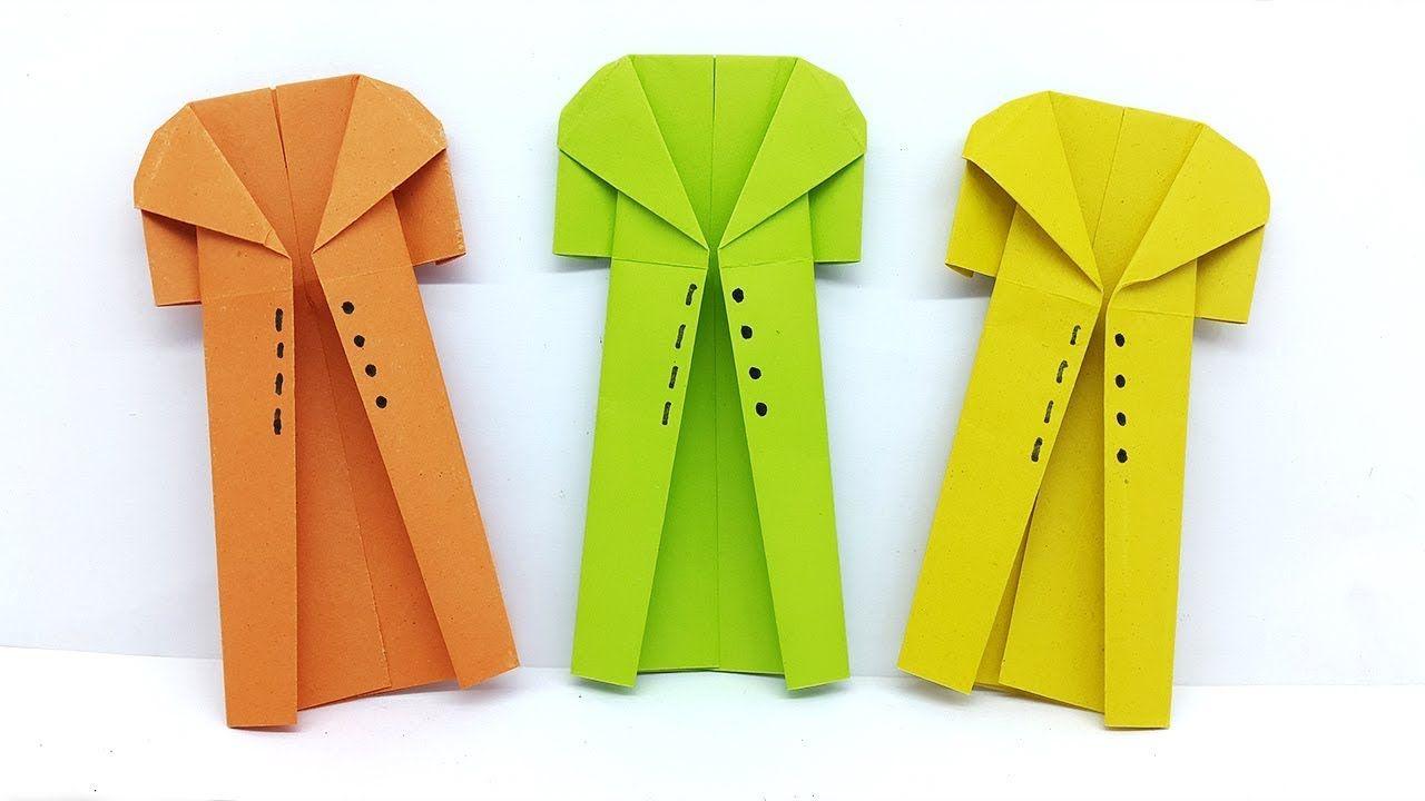 Origami Coat Instructions