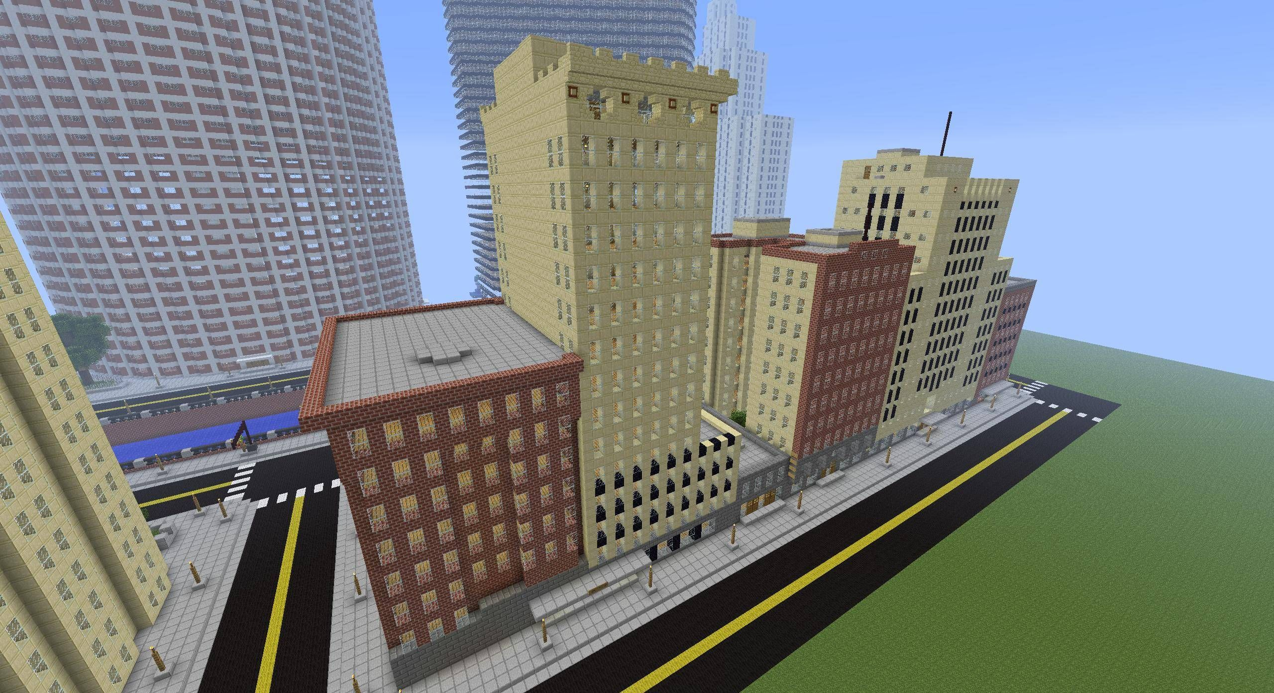 Minecraft City Buildings 02