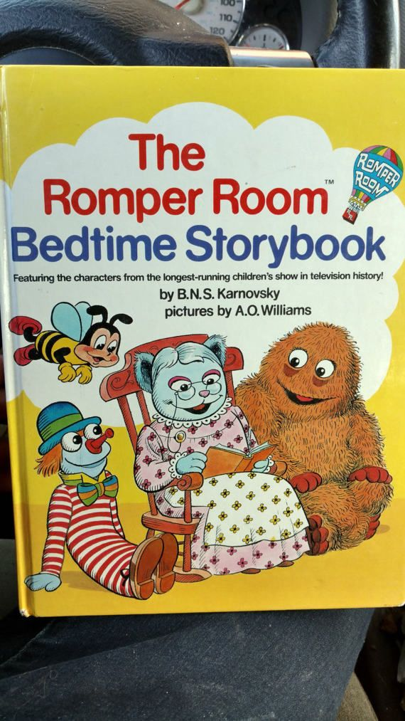 1984 The Romper Room Bedtime Storybook | 1990's Nostalgia
