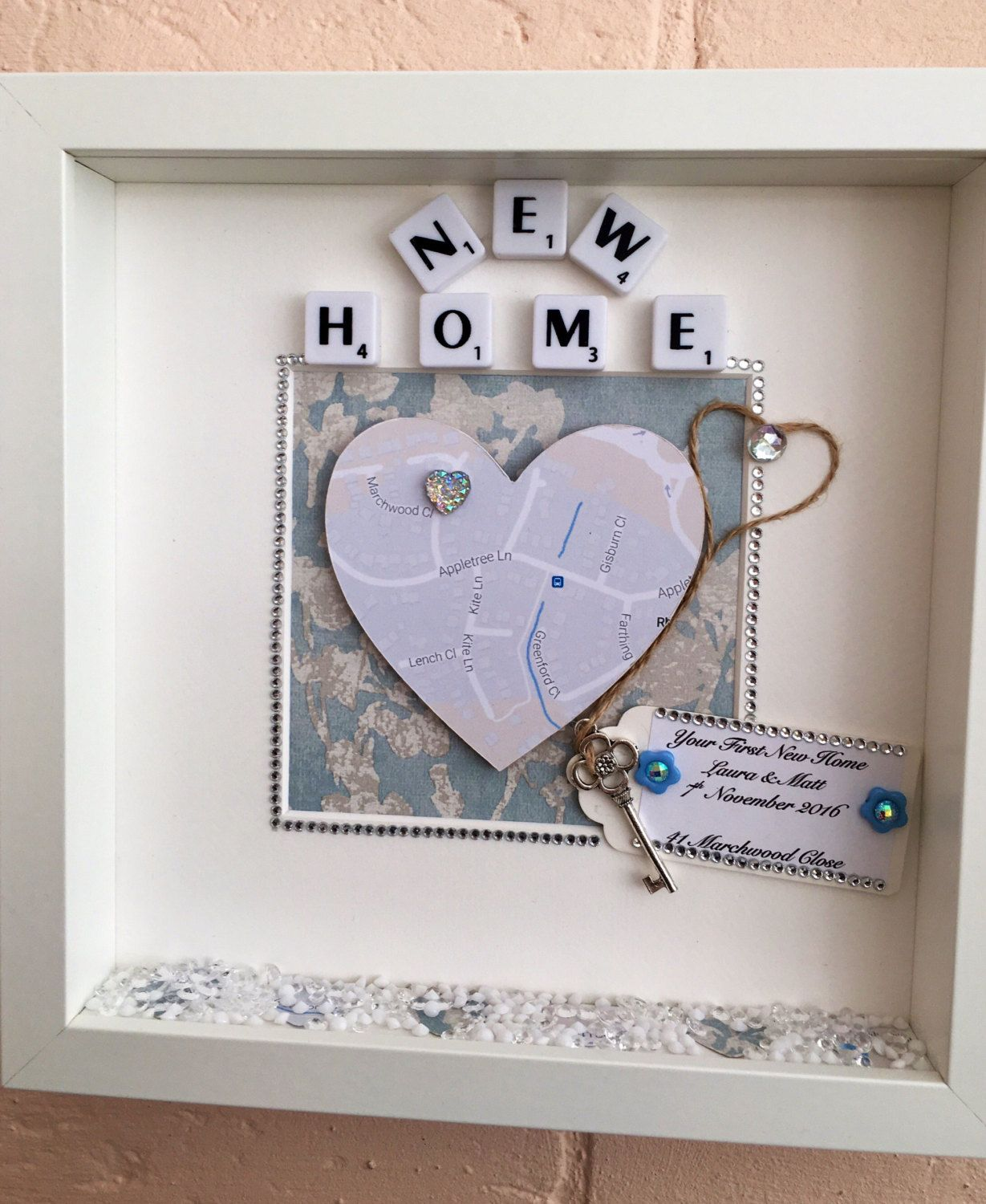 Personalised New Home Gifts Personalised House Warming Gift Personalised New Home Gift New