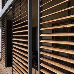 panneaux coulissants terrazas pinterest maison panneau coulissant et ext rieur. Black Bedroom Furniture Sets. Home Design Ideas