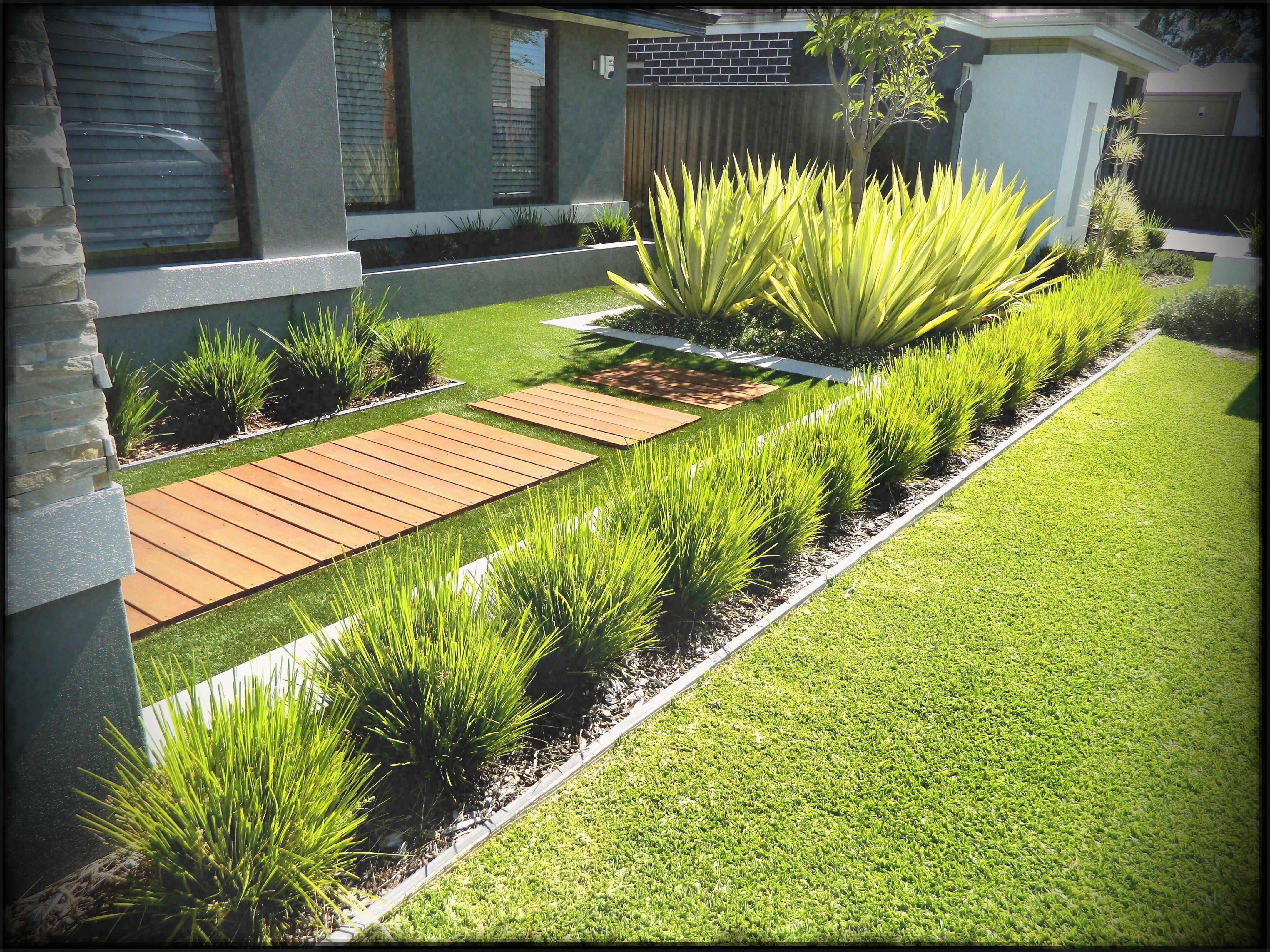 Modern Front Garden Ideas On A Budget | Home Designs ...