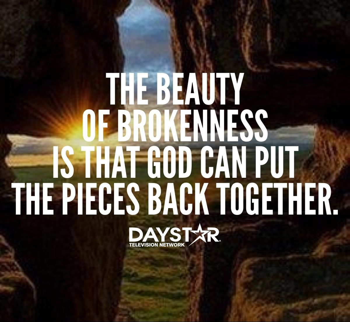 Christian Brokenness Quotes Quotesgram: The Beauty Of Brokenness Is That God Can Put The Pieces