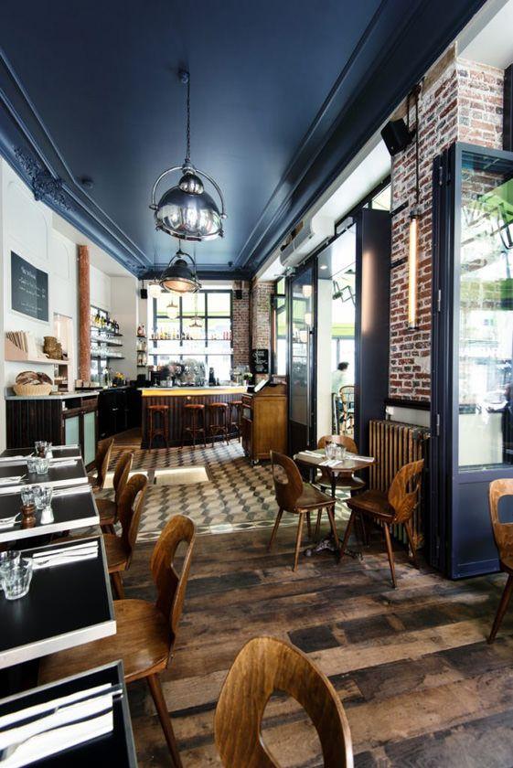 Un restaurant réalisé par Michael Malapert Restaurant design ...