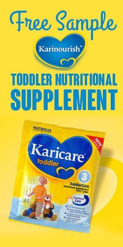 #Free #Sample of #Karicare #Toddler #Nutritional Supplement