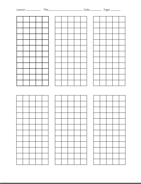 Drop Your Anchor In Th Grade Organized Graph Paper For Long