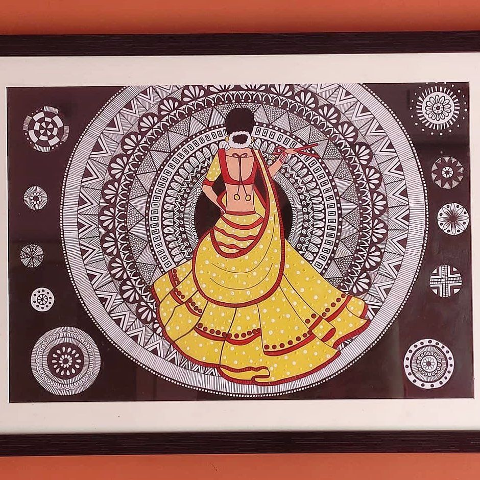 "Authindia - Indian Handicrafts on Instagram: ""• @garima_artwork Wall hanging The best way to decorate your house ❤️ Size- 20*16 inch #homedecorlovers #homedecorideas #homedecor #home…"""