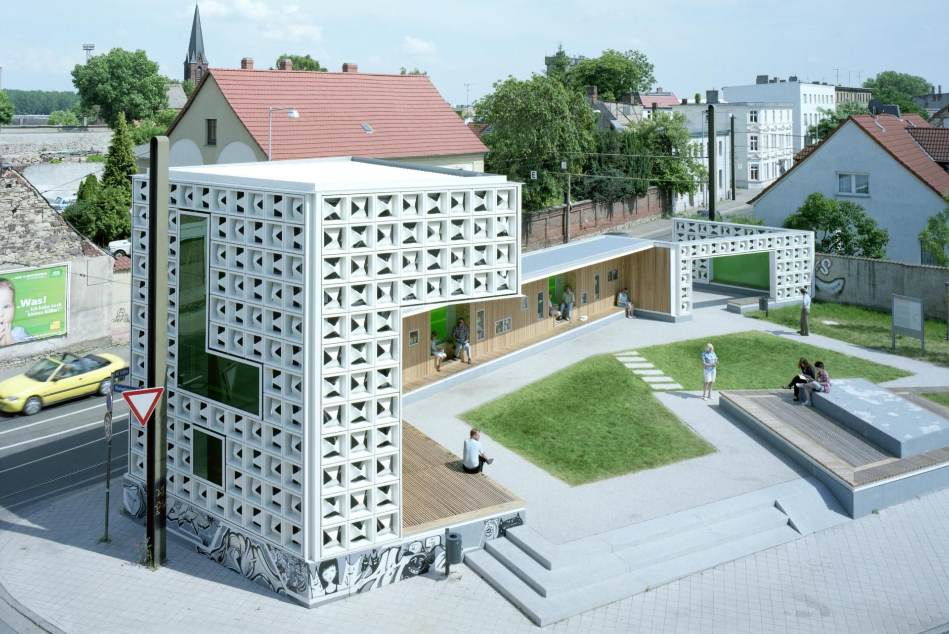 Open Air Library Magdeburg Project for public spaces