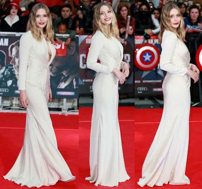 'Captain America: Civil War' film premiere, London, Britain