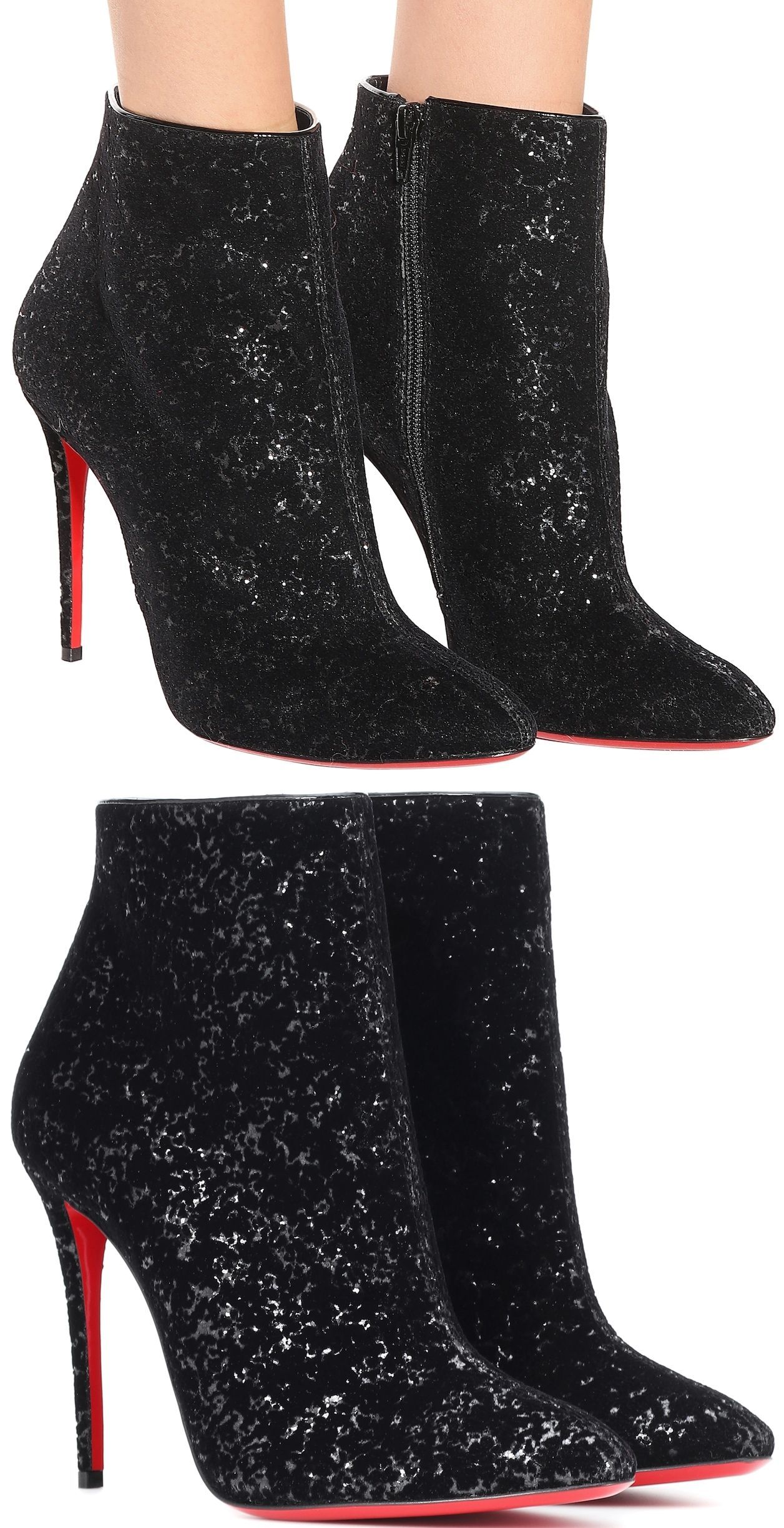 8869a9ebe60e Ankle Boots · Inject each step with a dose of high-octane glamour courtesy  of Christian Louboutin s Eloise