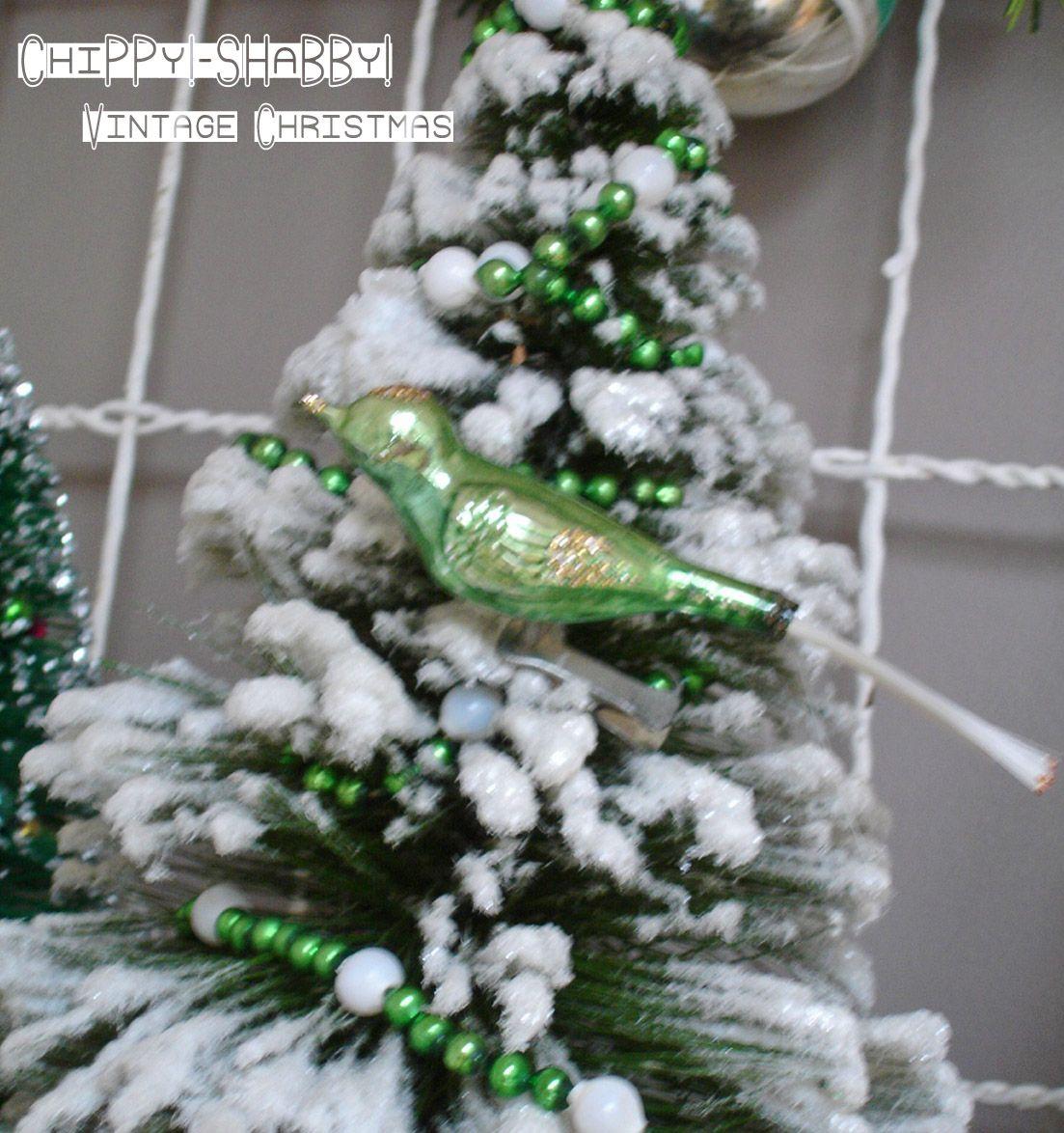 """ChiPPy! - SHaBBy!: SHaBBy """"ViNtaGe Christmas"""" BiRds!*!*!"""