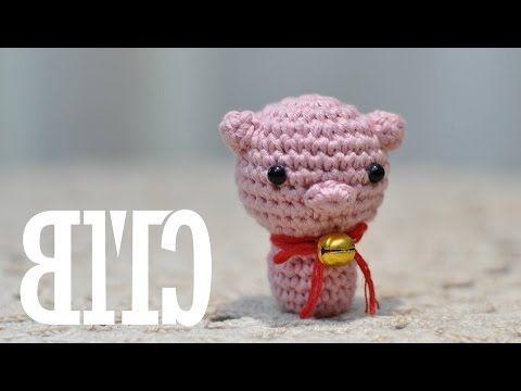 Tutorial Amigurumi Cerdito : Amigurumi como hacer un cerdito en crochet bibiana mejia